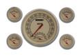 Vintage Series Five Gauge Set - Classic Instruments - VT65SLF