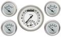 Classic White Five Gauge Set - Classic Instruments - CW35SLF