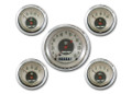 All American Nickel Five Gauge Set - Classic Instruments - AN00SHC