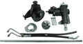 Borgeson Power Steering Conversion Kit - 65-66 Mustang with Manual Steering & 200/250 Inline 6 Cylinder
