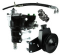 Borgeson Power Steering Conversion Kit - 66-77 Ford Bronco with Factory Manual Steering & 289/302/351W