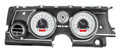 1963-65 Buick Riviera HDX Gauges - Silver Alloy Face - Red Display - Dakota Digital