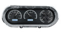 1963-65 Chevy Nova VHX Gauges - Black Alloy Face - White Display - Dakota Digital