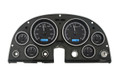 1963-67 Chevy Corvette VHX Gauges - Black Alloy Face - Blue Display  - Dakota Digital