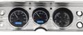 1964-65 Chevy Chevelle / El Camino VHX Gauges - Black Alloy Face - Blue Display - Dakota Digital