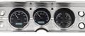1964-65 Chevy Chevelle / El Camino VHX Gauges - Black Alloy Face - White Display - Dakota Digital