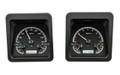 1969 Camaro VHX Gauges - Black Alloy Face - White Display   - Dakota Digital