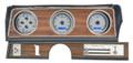 Dakota Digital 1970-72 Oldsmobile Cutlass VHX Gauges - Silver Alloy Face - Blue Display