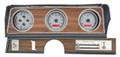 Dakota Digital 1970-72 Oldsmobile Cutlass VHX Gauges - Silver Alloy Face - Red Display
