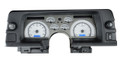 Dakota Digital 1990-92 Chevy Camaro VHX Gauges - Silver Alloy Face - Blue Display