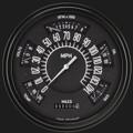 Black Six Pack w/Black Bezel - Classic Instruments - SX01BBLF