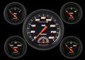 Velocity Black Series Five Gauge Set - Classic Instruments - VS65BBLF