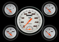 Velocity White Series Five Gauge Set - Classic Instruments - VS65WBLF