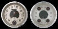 All Amer. Nickel 1947-53 GM Pick-Up  Gauges w/ Speedtachular - Classic Instruments - CT47AN62