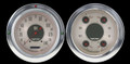 All American Nickel 1954-55 Chevy PU Gauges - Classic Instruments - CT54AN52