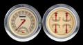 Vintage 54-55 Chevy PU Gauges w/Speedtachular - Classic Instruments - CT54VT62
