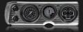 AutoCross Gray 1964-65 Chevelle Gauges - Classic Instruments - CV64AXG