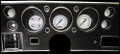 Classic White 1970-72 Chevelle SS / Monte Carlo / El Camino Gauges - Classic Instruments - CV70CW