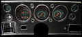 G-Stock 1970-72 Chevelle SS / Monte Carlo / El Camino Gauges - Classic Instruments - CV70GS