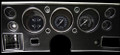 Traditional 1970-72 Chevelle SS / Monte Carlo / El Camino Gauges - Classic Instruments - CV70TR