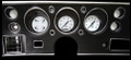 White Hot 1970-72 Chevelle SS / Monte Carlo / El Camino Gauges - Classic Instruments - CV70WH