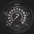 Black 1966-77 Ford Bronco Gauges - Classic Instruments - FB66B