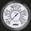 White 1949-50 Ford Shoebox Gauges - Classic Instruments - FC49W