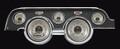 All American Nickel 1967-68 Mustang Gauges - Standard Bezel - Classic Instruments - MU67AN