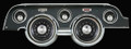 All American Tradition 1967-68 Mustang Gauges - Standard Bezel - Classic Instruments - MU67AT