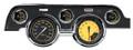 Auto Cross Yellow 1967-68 Mustang Gauges - Standard Bezel - Classic Instruments - MU67AXY