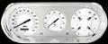 White Hot 1963-65 Nova Gauges - Classic Instruments - NO63WH