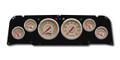 New Vintage Beige Woodward 64-66 Chevy PU 6 Gauge Kit Prog Speedo - 64371-02