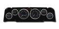 New Vintage Black 1940 Series 64-66 Chevy PU 6 Gauge Kit Mech Speedo - 64400-01