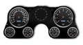 New Vintage Black Performance II Series 67-72 Chevy PU Gauge Kit - 73021-01