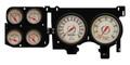 New Vintage Beige Woodward Series 73-87 Chevy PU Gauge Kit - 73376-02