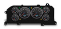 New Vintage Black Performance II Series 87-93 Mustang Gauges - 87211-01