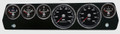 New Vintage Black Performance Series 67-70 Mopar A-Body Gauges - 01677-01