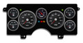 New Vintage Black Performance Series 1982-89 Buick Regal Gauge Kit (Mech Speedo) - 82101-01