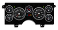 New Vintage Black Performance Series 1982-89 Buick Regal GN Gauge Kit (Prog Speedo) - 82111-01