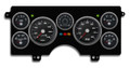 New Vintage Black Performance Series 1984-87 Buick Regal NA Gauge Kit (Mech Speedo) - 84101-01