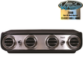 Vintage Air Universal Climate Control System - Heritage Under Dash Systems - Cool Only - Brushed Aluminum Face - 674003
