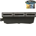 Vintage Air Universal Under Dash Systems - Mini Slimline Systems - Heat & Cool with Black Louvers - 10401-VUX-A