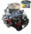 Vintage Air Front Runner Engine Drive System - Black Small Block Chevy with Power Steering - Includes Pump - 174008