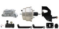 """MBM 1962-1974 Mopar A, B, & E Body 8"""" Dual Stainless/Chrome Power Brake Conversion Kit (Disc/Drum) - MP-322"""