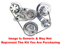 VIPS - Turbo Trac Serpentine Drive System - LS - Not Polished w/o Power Steering