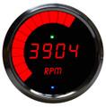 Intellitronix ~ LED Mult-Function Programmable Tachometer w/ Chrome Bezel - Red