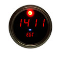 Intellitronix ~ Exhaust Gas Temperature Gauge in Chrome Bezel - Red