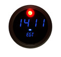 Intellitronix ~ Exhaust Gas Temperature Gauge in Black Bezel - Blue