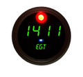 Intellitronix ~ Exhaust Gas Temperature Gauge in Black Bezel - Green