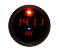 Intellitronix ~ Exhaust Gas Temperature Gauge in Black Bezel - Red